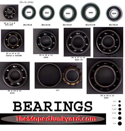 bearings- all brands