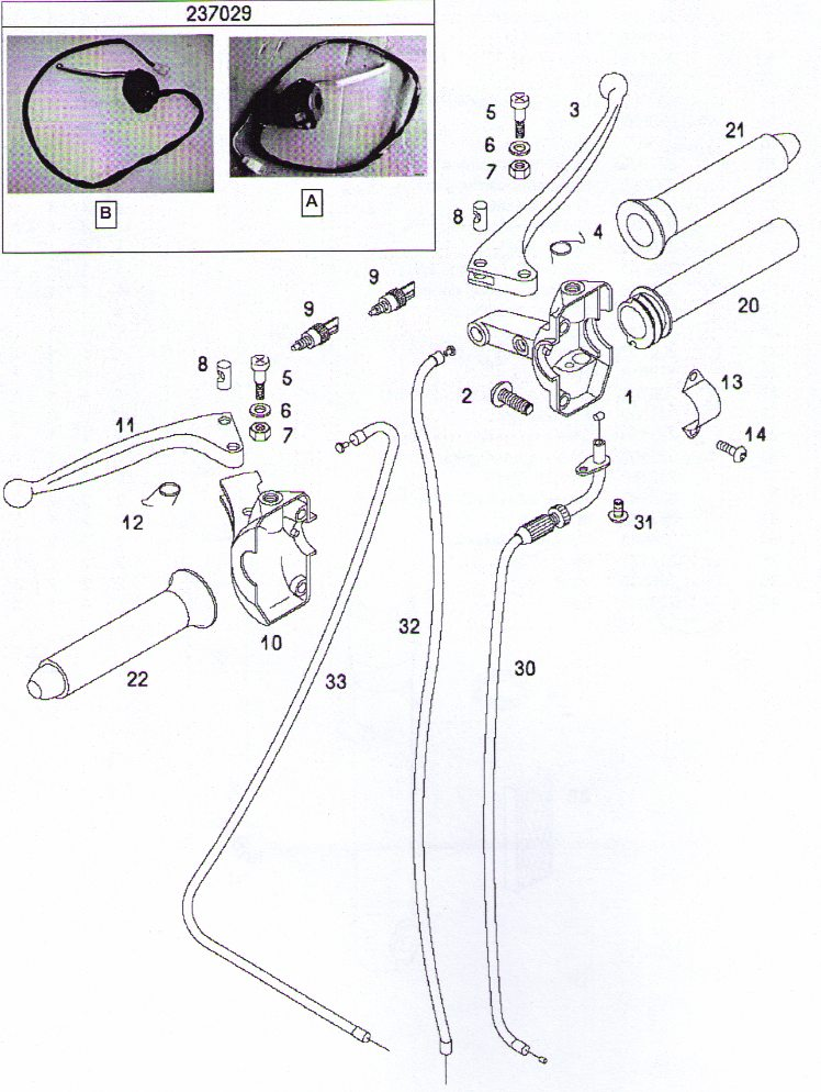 tomos throttle and brake controls  (4 Subcategories)