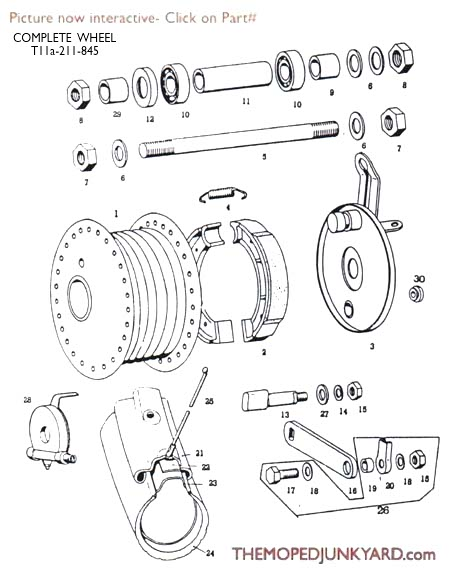 Wheel Parts Diagram