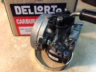 dellorto carb cleaning