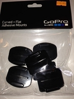 Curved and Flat adhesive mounts