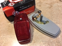 VINTAGE rear light 12V- NEW ITEM