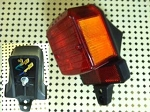 Euro CEV style taillight complete 6V