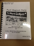 Puch Magnum Parts book