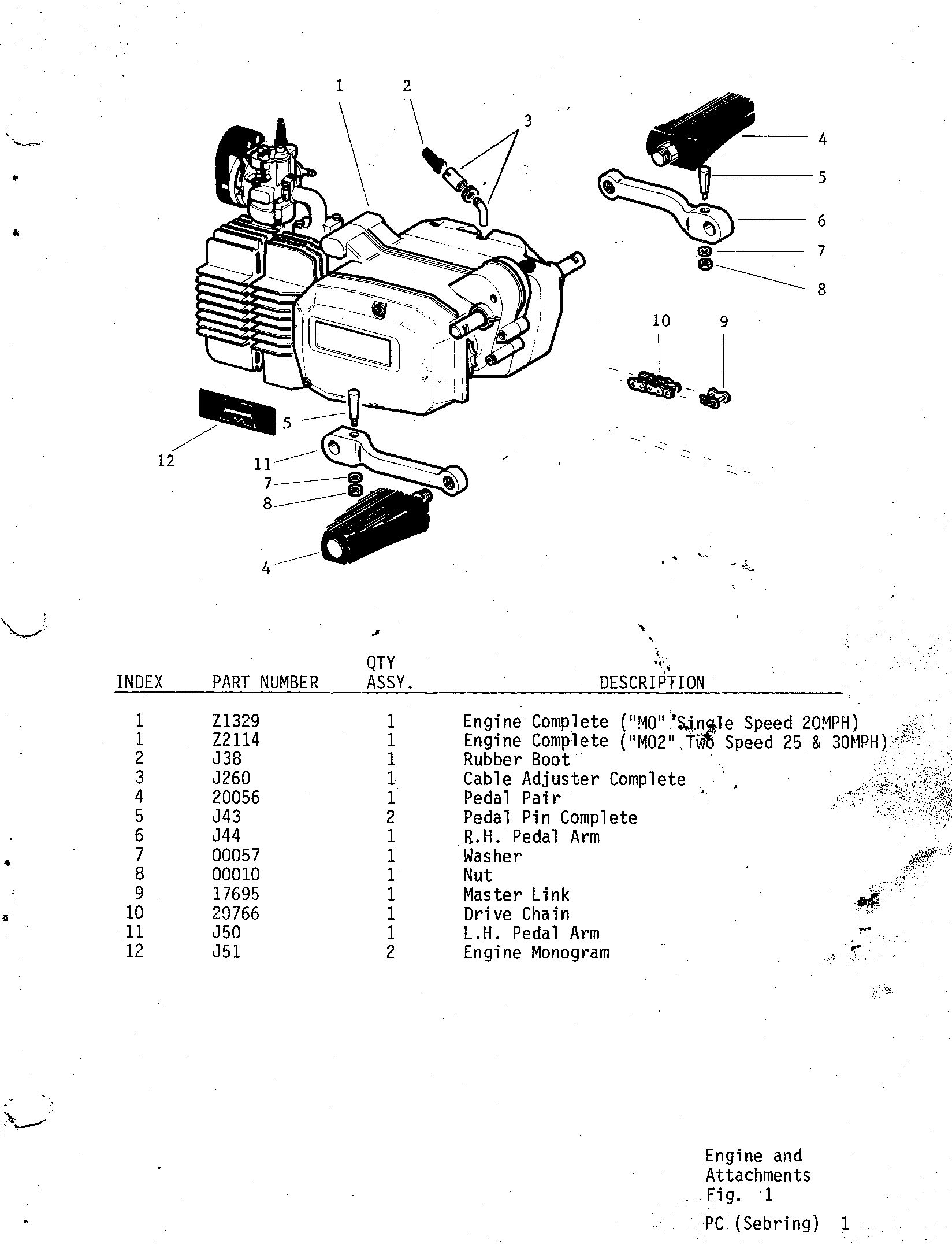01-ENGINE AND ATTACHMENTS