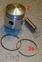 (23) Tomos A3 piston kit