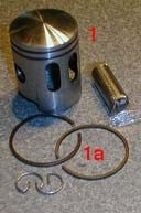 TOMOS A35 38.5 1st over piston kit