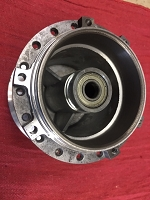 Puch sealed bearing rear hub  NEW