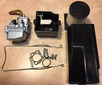 85/12/101 Carb- Reproduction with air box/choke/filter/clip (NEW)