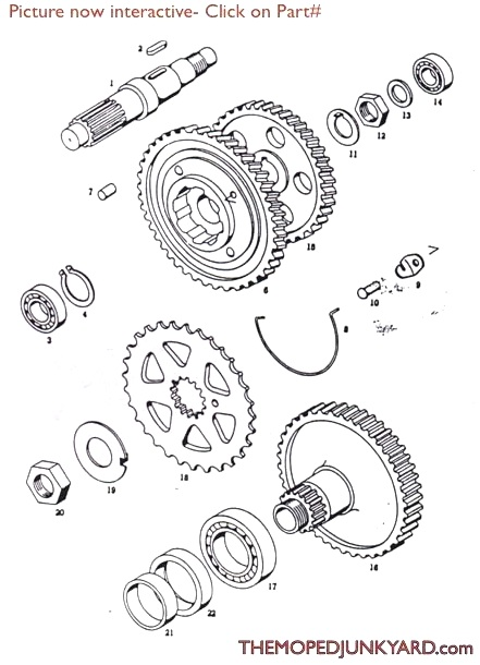 A3transmission diagram reference t6b tomos a3 transmission gears tomos a3 wiring diagram at webbmarketing.co