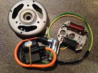 anti-clock 12V CDI ignition for Puch ZA50, Sachs 505 and TOMOS A3/ A35