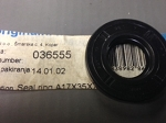 Crankshaft seal 17x35x8