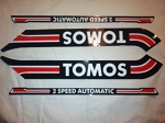 Tomos Bullet decal set