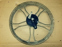 WHEEL COMPLETE A35 front gold  (USED)