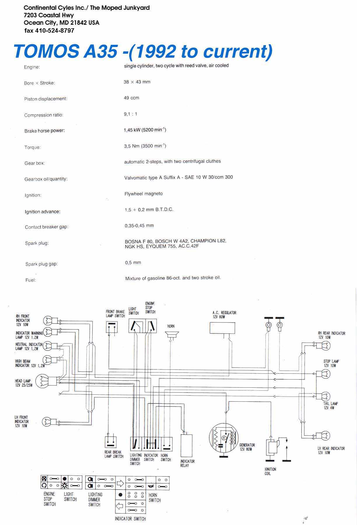 a35 wiring diagram a35 printable wiring diagram database tomos a35 wiring diagram asco solenoid valve wiring diagram source