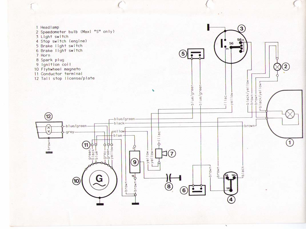Puch Wiring Diagram Third Level Sabre Todays