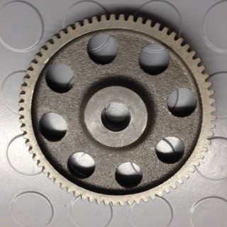driving gear for larger crank ( 6203 bearing)
