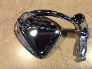 Aftermarket bar end mirror