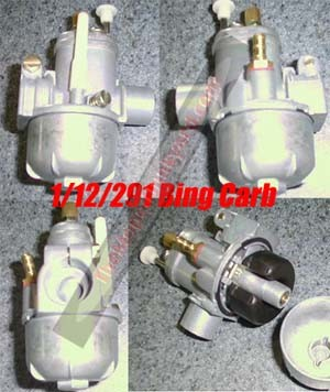 NEW ITEM- Taiwan Bing style carb 12mm