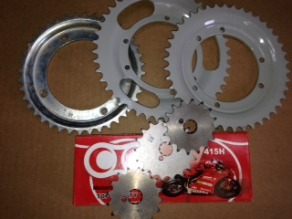 Puch Sprockets/ Chains