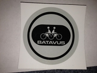 Round Batavus decal