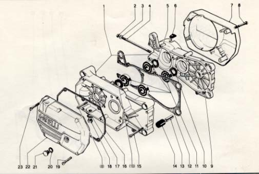 Garelli NOI/Basic Moped Transmission Parts  (4 Subcategories)