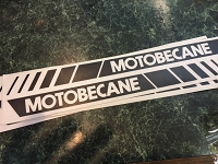 Motobecane Decal Set