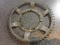 Motobceane rear sprocket 54th USED
