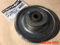 flange and clutch pulley (used only)