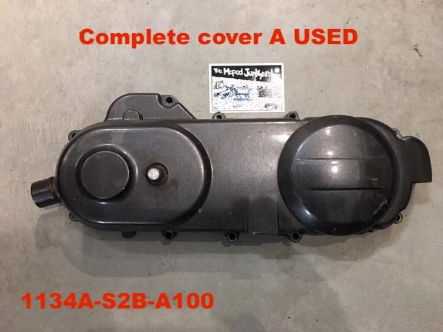 Nitro 50 L Crank Case Cover Complete  Used