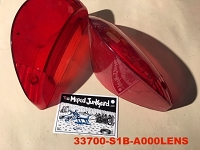 TOMOS 49cc Nitro taillight LENS ONLY
