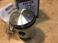 Tomos A35 38mm Std piston kit