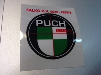 Puch LOGO round decal