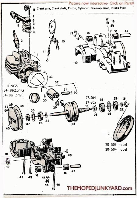 sachs 504/505 engine  (3 Subcategories)