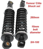 TOMOS/ Citta Shock set  (260MM CENTER TO CENTER)