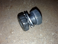 mount bolt complete for headlight bracket
