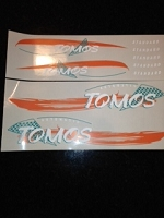 Tomos ST EURO decal  Orange/ green