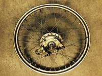 USED TOMOS A3 pre 1988 Front wheel