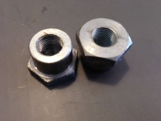 Garelli 2 speed mag nut