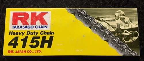 RK brand 415H chain (110 links)- NEW ITEM