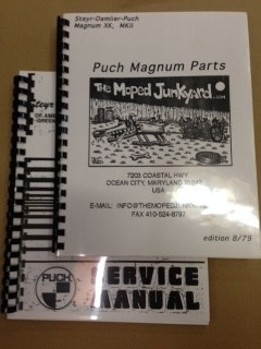Puch Magnum manual set