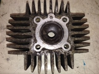 (4) Used cylinder head 38mm 49cc