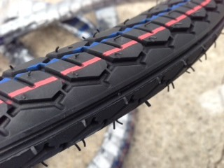 IRC 17 x 2.00 quality tire BACK IN STOCK