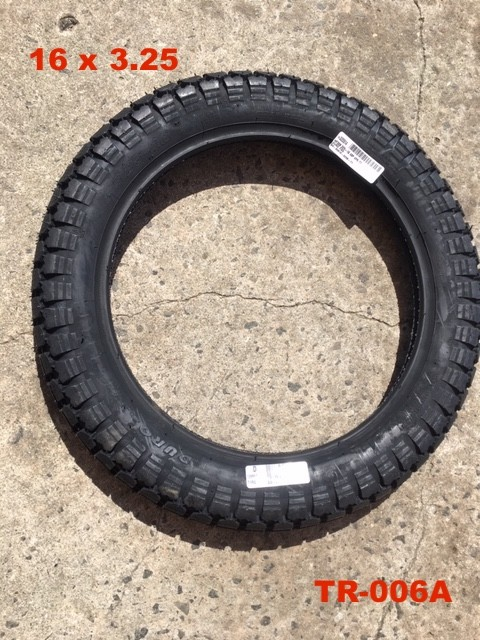 16 x 3 1/4 tire DURO  BRAND (NEW ITEM)