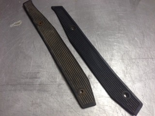 footboard rubber set (USED)